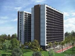 Апартаменты в апарт отеле с ремонтом в Батуми