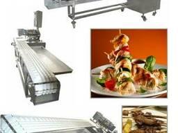 Автоматический станок для производства шашлыка из Турции