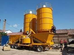 Б/у мобильный бетонный завод 25-60 м3 в час