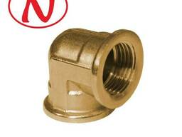 "Brass Fitting 90 Elbow 3/4""F-3/4""M /HS"