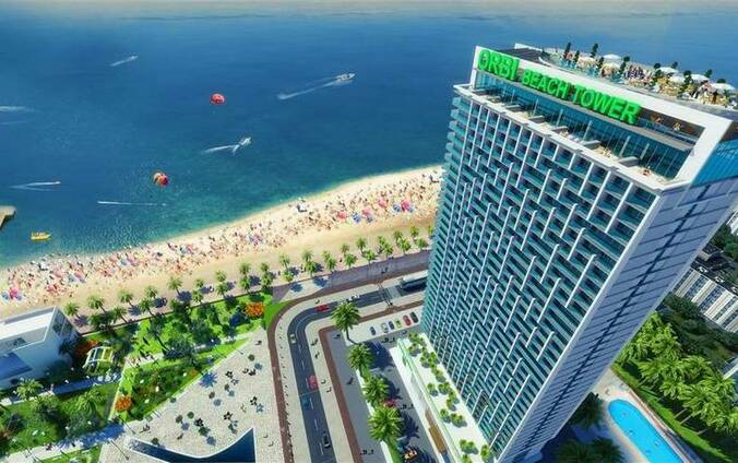Квартира в Батуми с видом на море в «ORBI Beach Tower»
