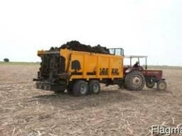 Навозоразбрасыватель органических удобрений X10 (10 тонн) - фото 4