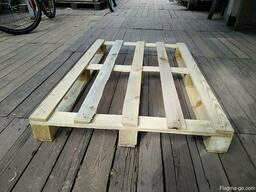 Поддон, паллет деревянный 800х1200,1000х1200 нов. и б/у - фото 2