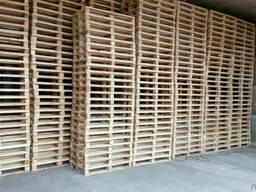 Поддон, паллет деревянный 800х1200,1000х1200 нов. и б/у - фото 7