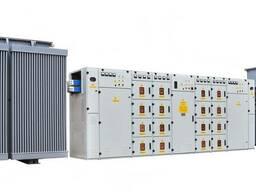 Подстанции трансформаторные комплектные мощностью 250- 2500
