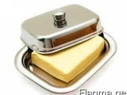 Сливочное масло с массовой долей жира не менее 72,5% и 82,5