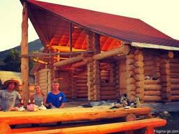 Строительство деревянных домов, срубов. - фото 6