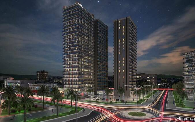 Aisi-complex 100 meters from the sea