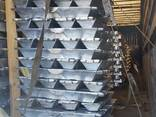 Алюминий высокой чистоты в слитках ГОСТ марка А4N6 99,998% - фото 2