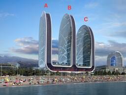 Апартаменты гостиничного типа в 50 метрах от моря