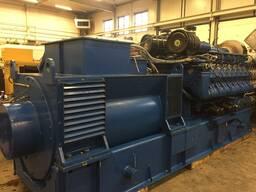 Б/У газовый двигатель MWM TBG 620, 1995 г. ,1 052 Квт. - фото 4