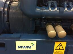 Б/У газовый двигатель MWM TBG 620, 1995 г. ,1 052 Квт. - фото 6