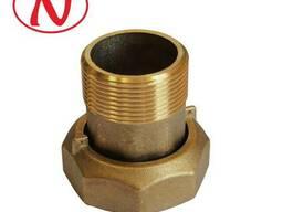 """Brass water meter coupling set - 1/2"""" /С"""