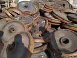 Куплю колесные пары диски оси вагонные б у - photo 2