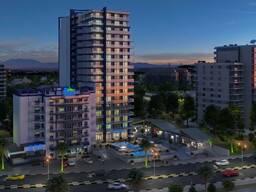 Продажа квартиры в Батуми кв. 75.11 м Вид на горы Черный каркас этаж 2