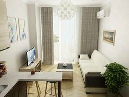 Studio 29 m2 on the New Boulevard in Batumi for $14000