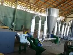 Линия для производства топливных брикетов из отходов