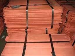 Медь Катодная пластины чистота 99, 97-99, 99%
