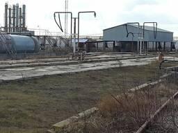 Нефтеперерабатывающий завод с нефти базой Киевская обл