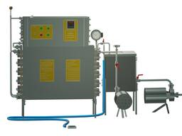 Пастеризатор молока проточный 1 т/ч УЗМ-1, 0