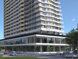 Продается новая 2 комн. квартира в Батуми 46, 6 кв. м.