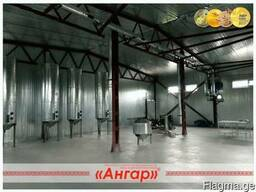 Производство ангаров, навесов, каркасов ангаров - фото 3