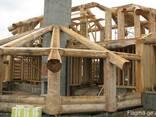Строительство каркасно бревенчатых домов - фото 4