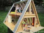 Строительство каркасно бревенчатых домов - фото 7