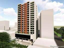 Строящийся объект 26 м² - улица Хайдара Абашидзе, Батуми