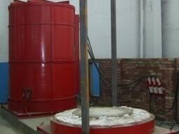 Термическая колпаковая печь типа СГО
