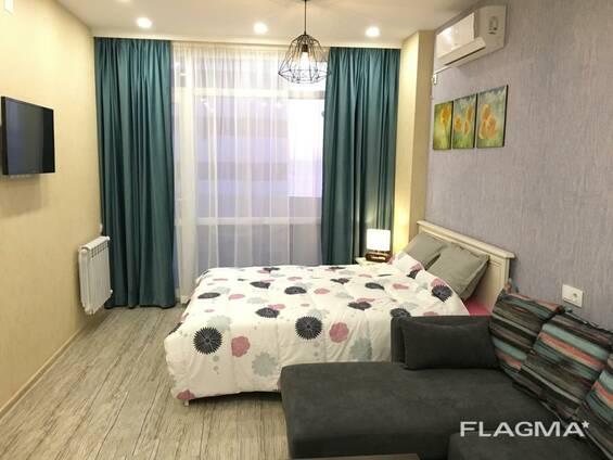 Уютная квартира студия с видом на море в жк Мега Палас