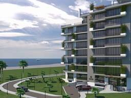 Восьмиэтажный жилой комплекс гостиничного типа