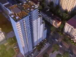 Жилые квартиры площадью не менее 85 кв.