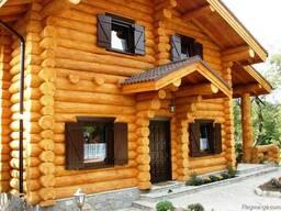 ხის სახლების მშენებლობა საქართველოს მასშტაბით.