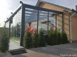 გთავაზობთ ალუმინის ლივტ სლაიდ კარს, (ხებე-შებეს) - photo 4